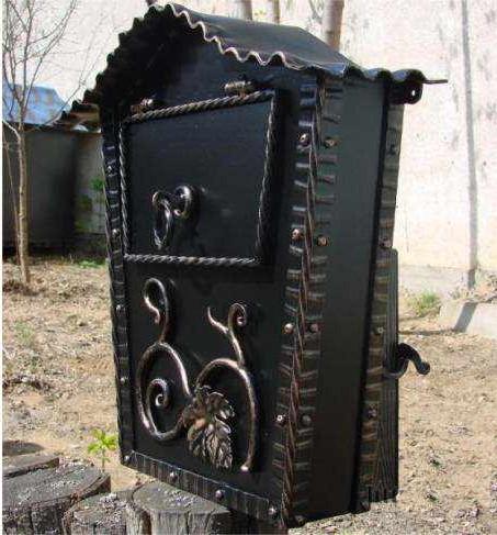 фото кованый почтовый ящик