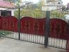 Кованые ворота, калитки, зыборы
